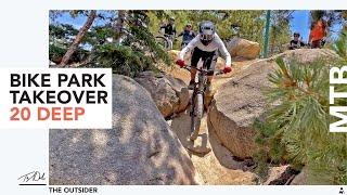 Snow Valley Bike Park Alt Lines & New Additions
