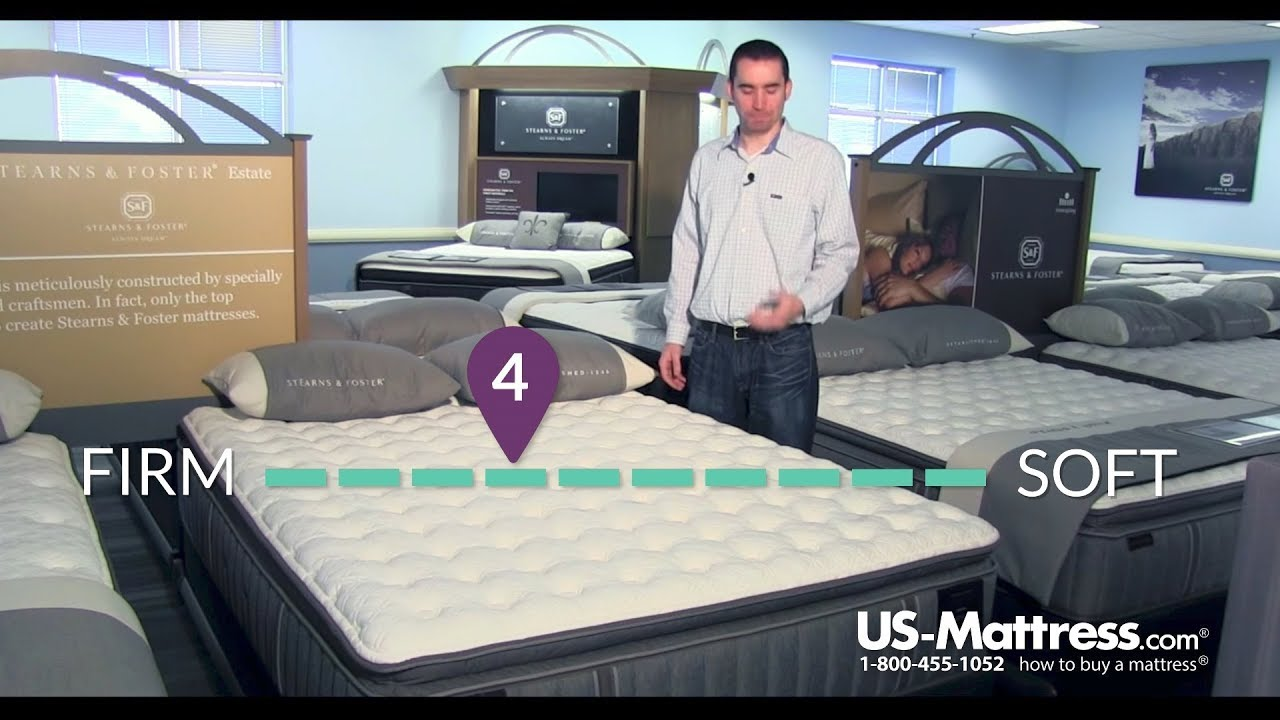 stearns and foster estate addison grace luxury cushion firm euro pillow top mattress expert review