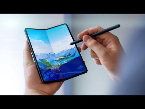 Das beeindruckendste Smartphone-Display: Galaxy Z Fold 3 Hands-On!