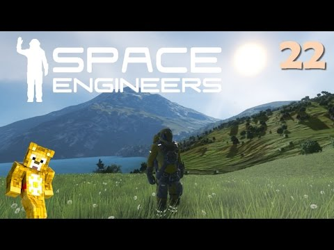 Let's Play Space Engineers with Planets - Ep22 - Liquid Storage