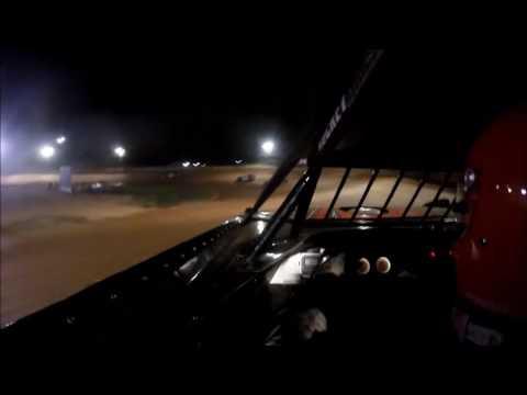 #44 Chris Marcum - Late Model - Wartburg Speedway 8-13-16 - in car camera