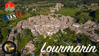 LOURMARIN - Most Beautiful Villages in France 4k