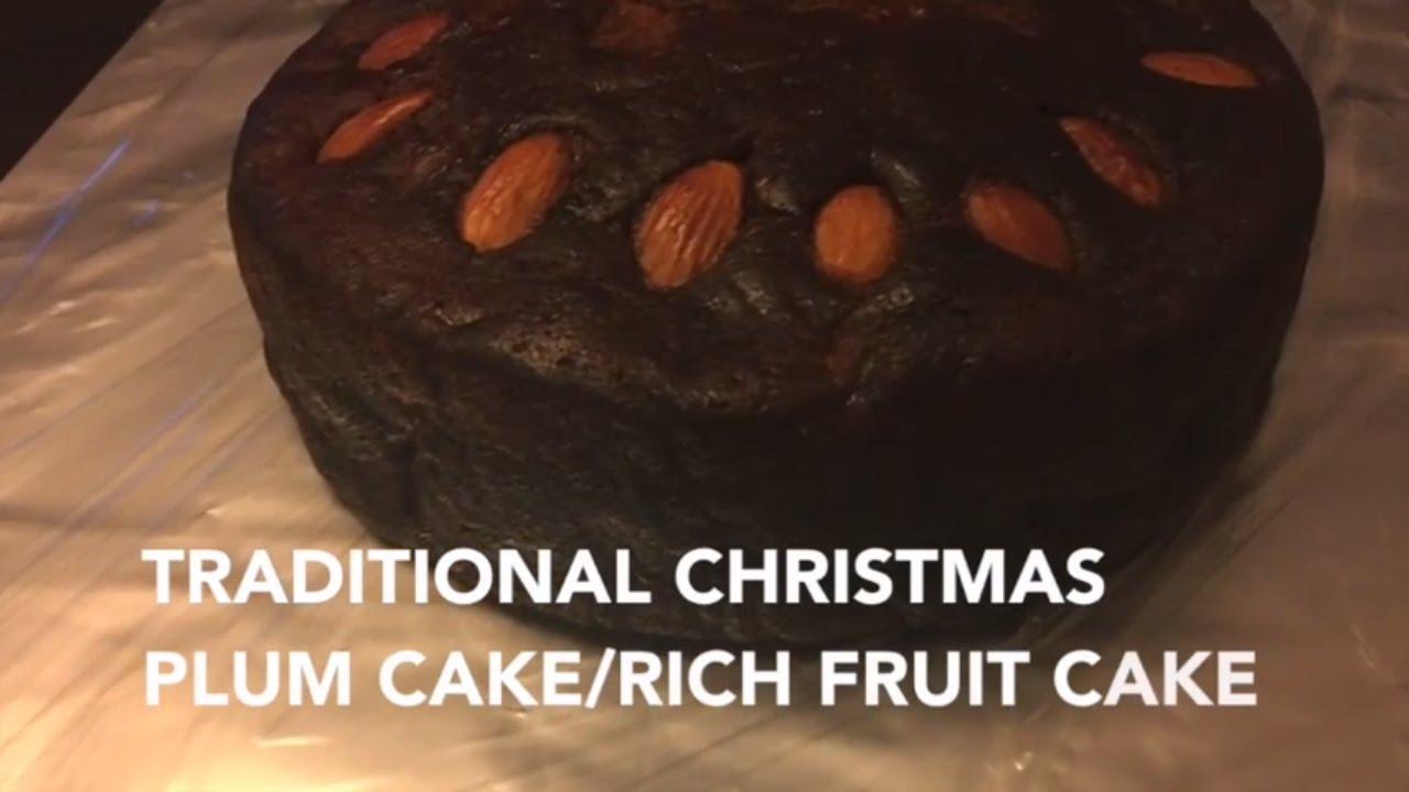 Traditional Rich Christmas Cake Recipe