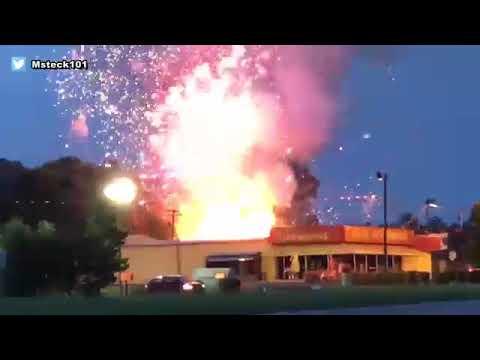 Blaze ignites fireworks at store in South Carolina I ABC7