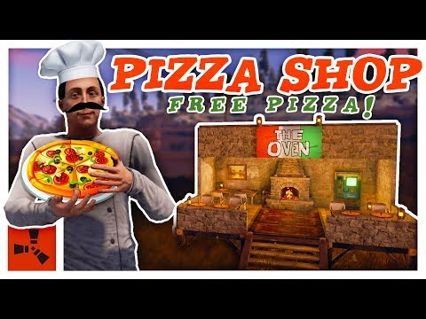 Running a PIZZA RESTAURANT in RUST - Shop Gameplay