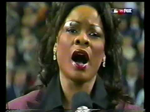 Denyce Graves WS Game 4 National Anthem 2001