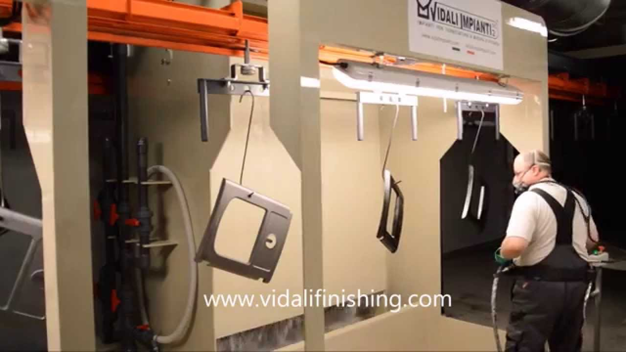 Vidali Finishing Vidali Impianti Impianto Per Verniciatura Stufe A