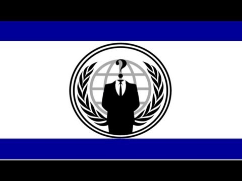 Anonymous Declares War on Israel
