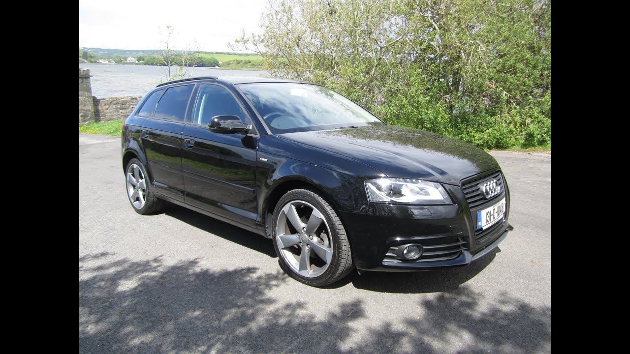 review test drive 2013 audi a3 sportback s line black edition youtube. Black Bedroom Furniture Sets. Home Design Ideas