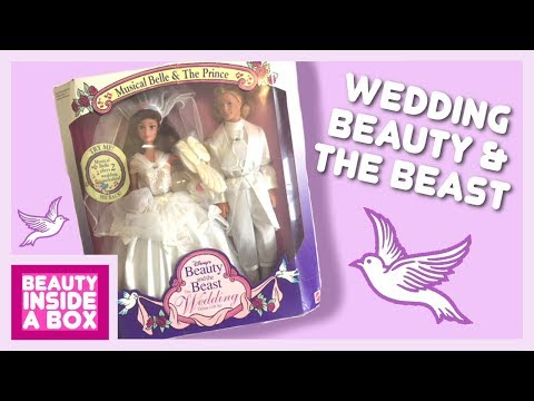 wedding-beauty-and-the-beast-(1993)---doll-review---beauty-inside-a-box