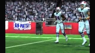 Let's Play Madden 10 ps2 Week 1 Patriots vs Bills
