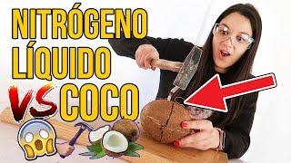 Experimento - COCO VS NITRÓGENO LÍQUIDO  | Congelando cosas con ExpCaseros