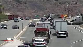 Man arrested after barricading himself in armored vehicle near Hoover Dam