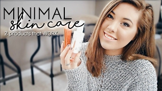 minimal skin care routine for oily acne prone skin