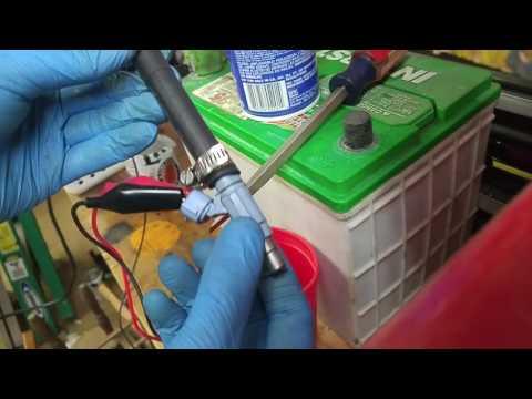 Cleaning fuel injectors 2008 Suzuki GSX650F