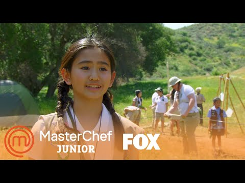 Chefs Cook Up A Five Star Meal For The Campers | Season 5 Ep. 9 | MASTERCHEF JUNIOR