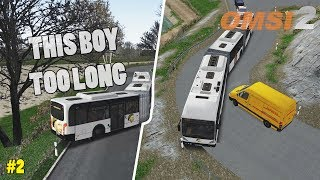 Long Bus, Small Roads - Drifting   OMSI 2