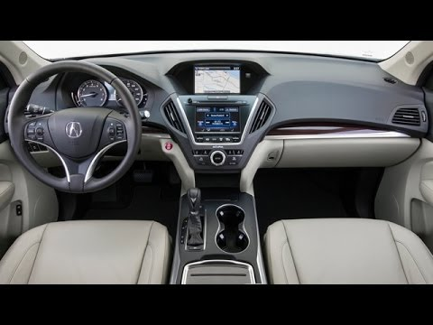 2014 Acura MDX Interior Review