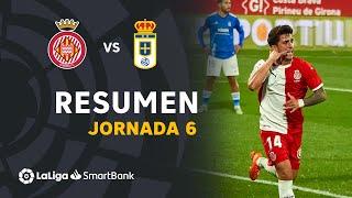 Resumen de Girona FC vs Real Oviedo (1-0)