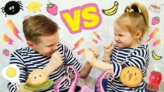 Обычная еда против мармелада Челлендж Смотреть до конца! Challenge Food VS Marmalade   Златуня