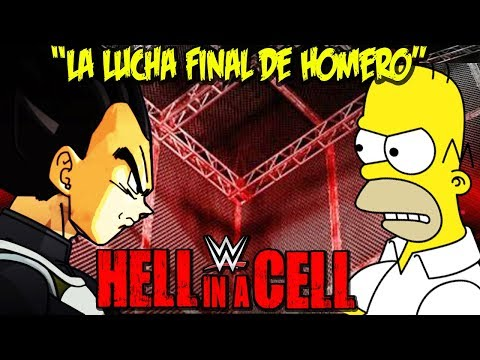 Homero VS Vegeta - (Lucha de Retiro) - Hell in a Cell Match 2018