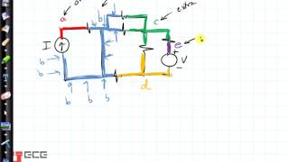 Circuits: How to tell if something is a node, and then is it an ordinary or extraordinary node?