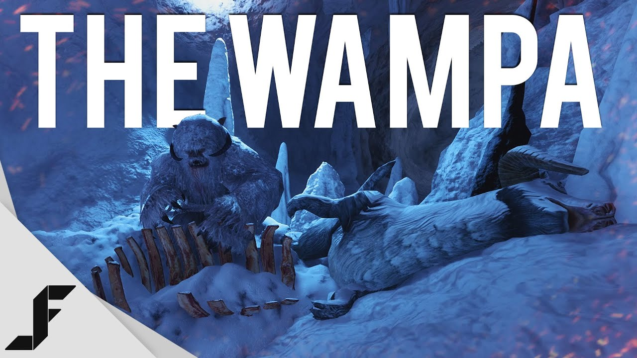 Camera Caché Star Wars : The wampa! star wars battlefront easter egg youtube