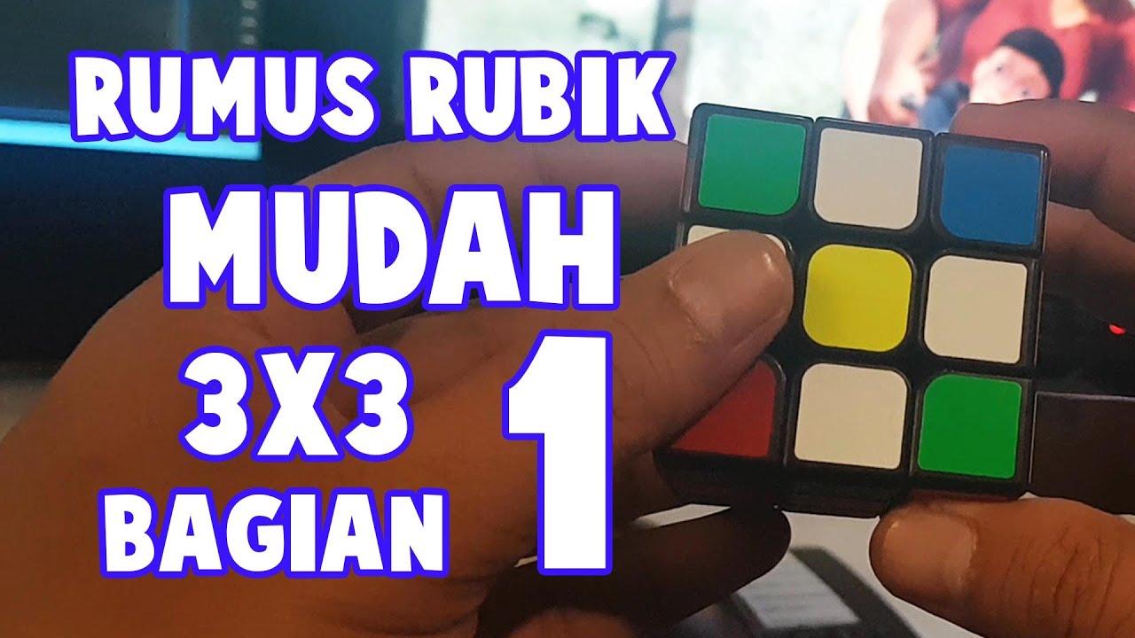 Download RUMUS RUBIK 3x3 MUDAH BAGIAN 1