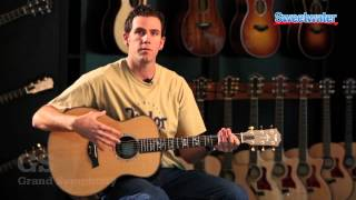 Taylor Guitars Body Shapes Overview - Sweetwater Sound