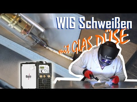 WIG Schweißkurs Mit Glas Gasdüse - Ewm Picotig 200 Dc Plus + Verlosung