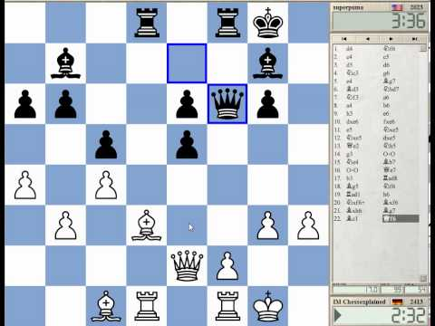 Blitz Chess #1071 with Live Comments Benoni Defence