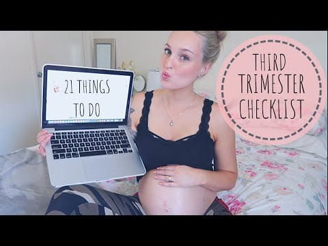 21 THINGS TO DO BEFORE YOUR BABY COMES!!