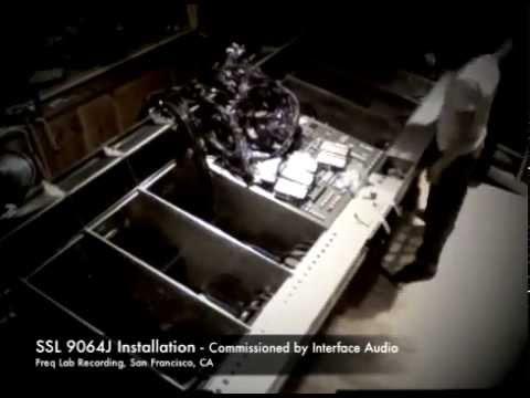 SSL 9064J Installation at Freq Lab Recording Studio San Francisco, CA