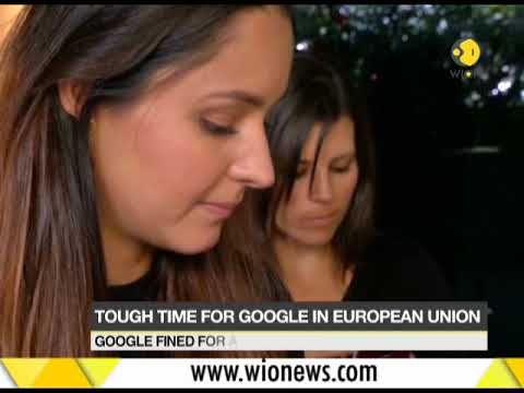 Google fined $5B for antitrust breach in Europe