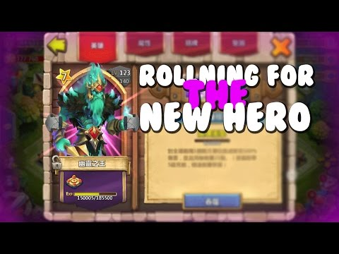 Castle Clash Rolling For Phantom King/Ghost Knight!