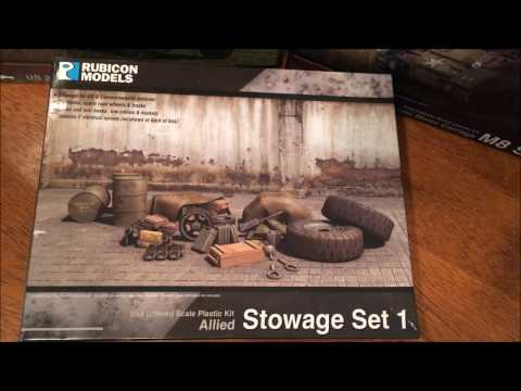 Unboxing: Rubicon Allied Stowage Set 1