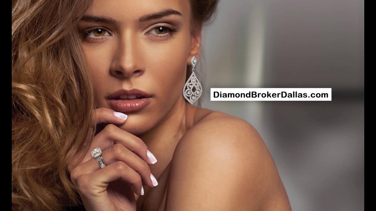Diamond Split Shank Rings*the Diamond Broker In Dallas*engagement Rings In  Dallas