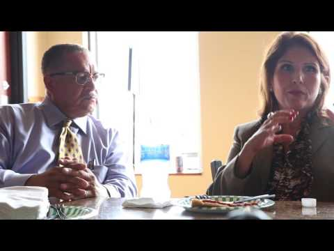 Mayor Riley H. Rogers meets with Lt. Governor Evelyn Sanguinetti