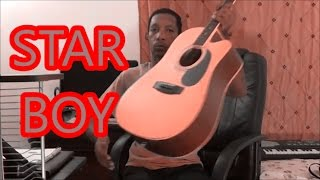 HOW TO PLAY -The Weeknd - Starboy ft. Daft Punk - GUITAR CHORDS
