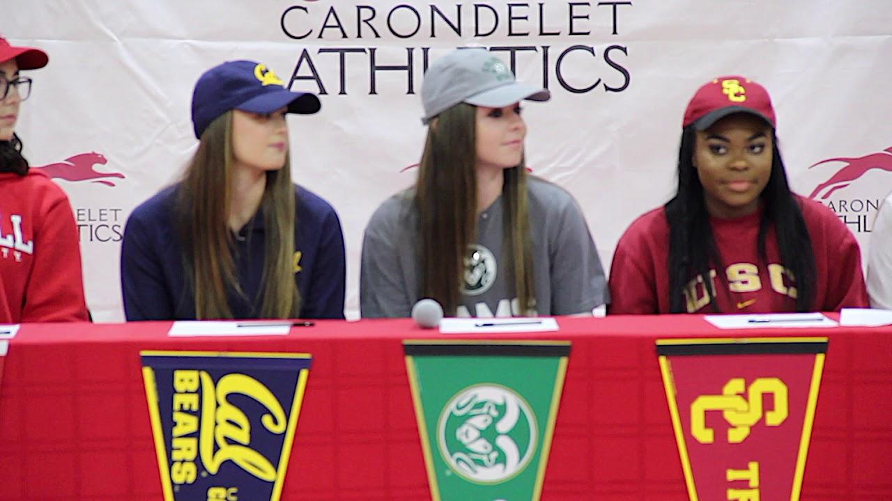 Carondelet High School - NLI Signing Day - Feb. 7 3936ccf12
