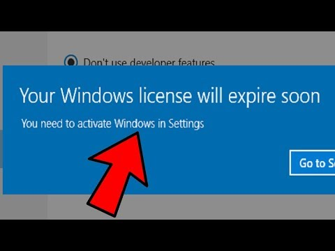 Fix 'Your Windows License Will Expire Soon' Error on Windows