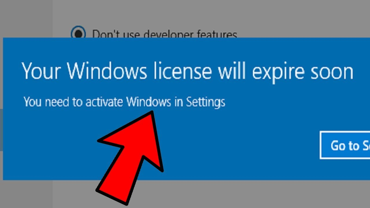 Your Windows license will expire soon error on Windows 10 [EASY FIXES]