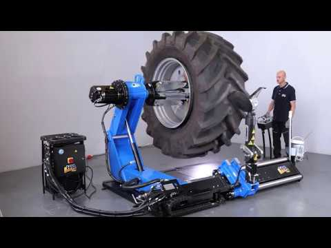 F565 Heavy Duty Tyre Changer - ideal for Mining & Agriculture | Levanta