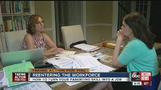Career coach offers resume tips for stay-at-home parents to reenter workforce