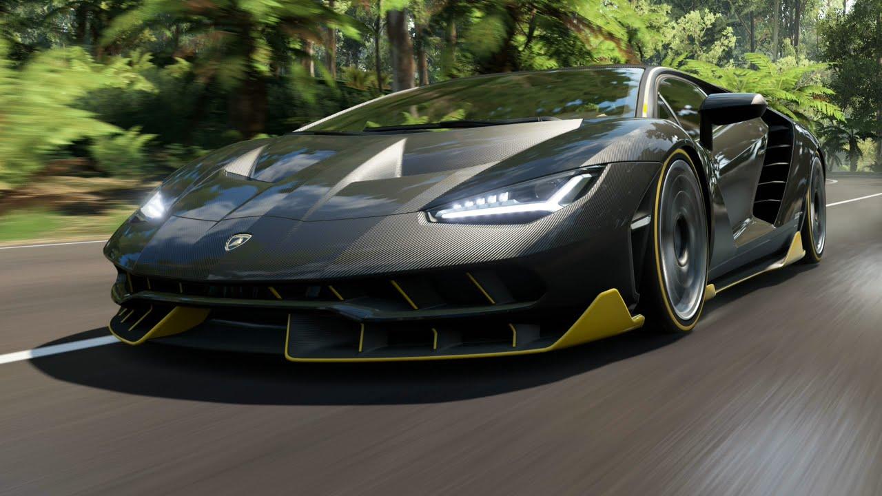 Lamborghini Centenario Forza Horizon 3 Gameplay Youtube