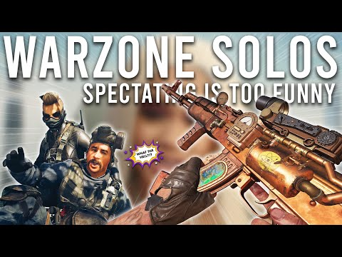 Spectating Warzone Solos is too Funny!
