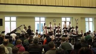 Brasilliance by the Triangle Youth Jazz Ensemble at UNC Jazz Festival