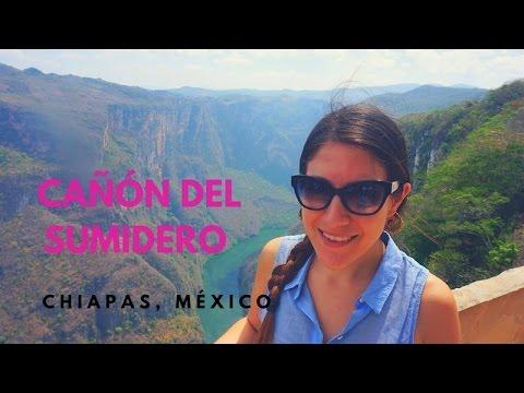Tour por el Cañón del Sumidero, Chiapas, México