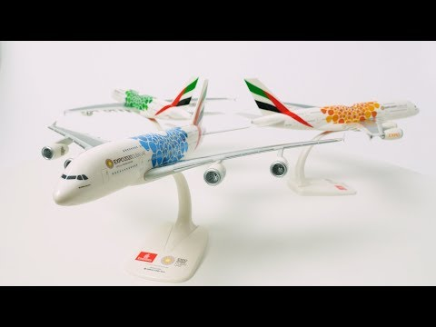 Emirates Expo 2020 Dubai aircraft model collection takes off