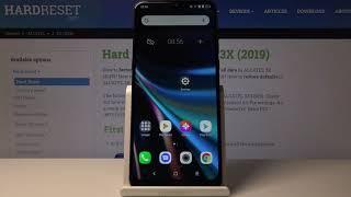 How to Change Screen Lock Method on ALCATEL 3X 2019 – Set Up Lock Method